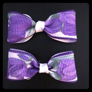 Matching Hairbows for little girls